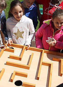 Детский лагерь весной2